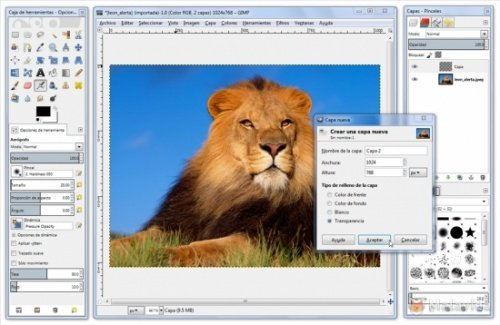 Afbeeldingen comprimeren met GIMP
