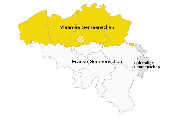 belgie-kaart