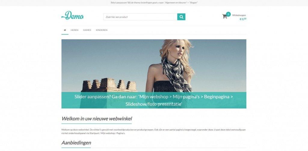 voorbeeld ccv shop website