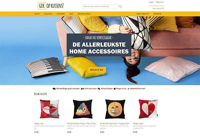 Voorbeelden Shoppagina Webshop